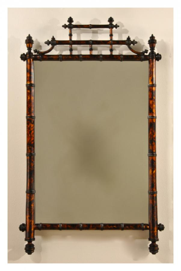Bamboo Mirror Frame Bamboo Products Photo