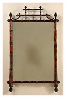 Bamboo Mirror Frame1