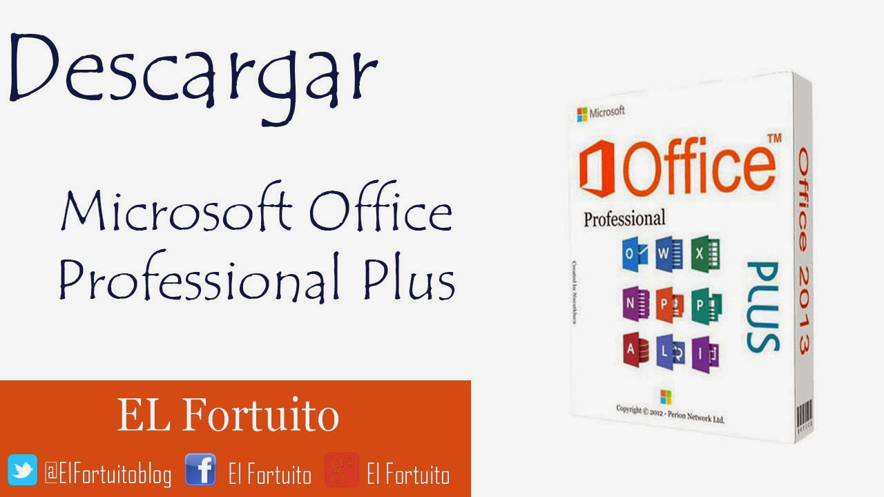 descargar office 2013 gratis