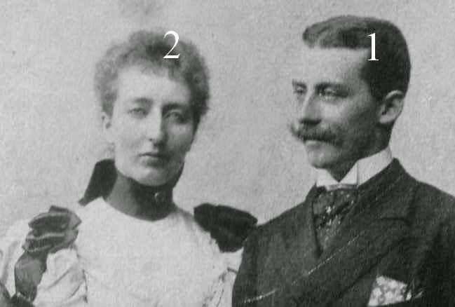 Emmanuel et Henriette d'Orléans, duc et duchesse de Vendôme