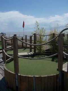 Crazy Golf on Clacton Pier