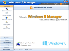 Free Download Windows 7 Manager 4.2.7