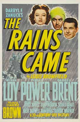 The Rains Came 1939
