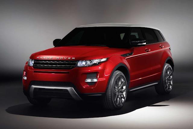 2012 Land Rover Range Rover Evoque 5-Door Luxury Cars