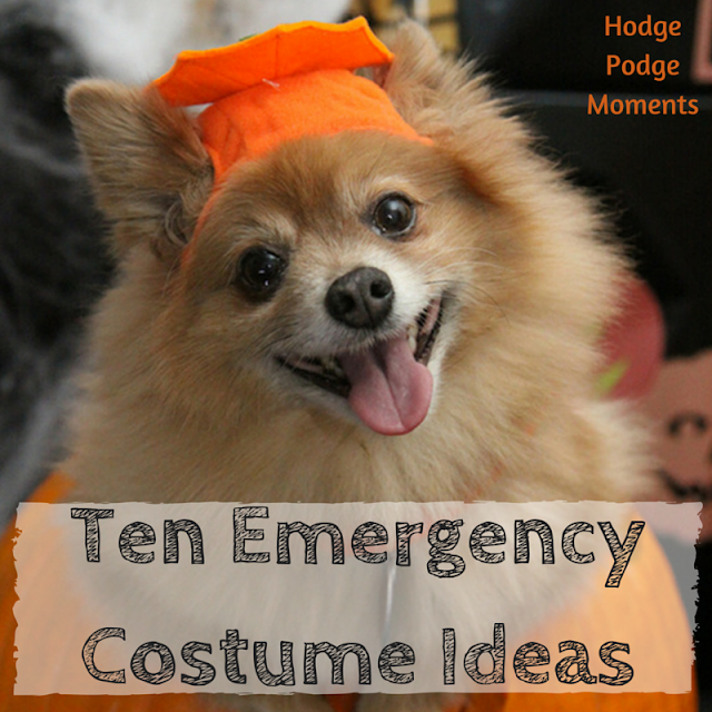 Ten Emergency Costume Ideas
