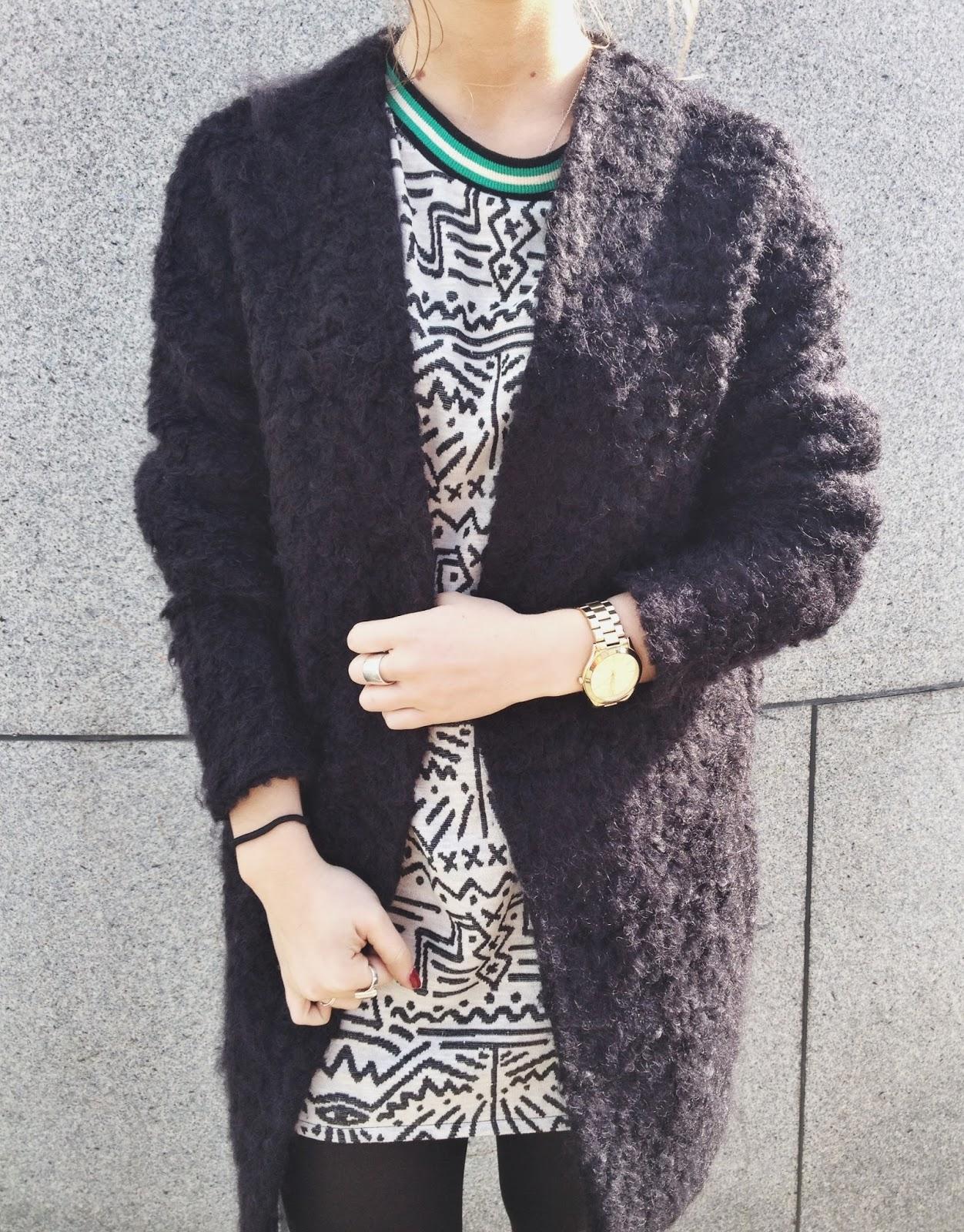 H&m Jumper Dress// New Blog