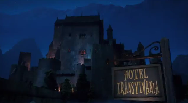 Hotel Transylvania 2012 movie trailer impressions animated film trailer review CMAQUEST