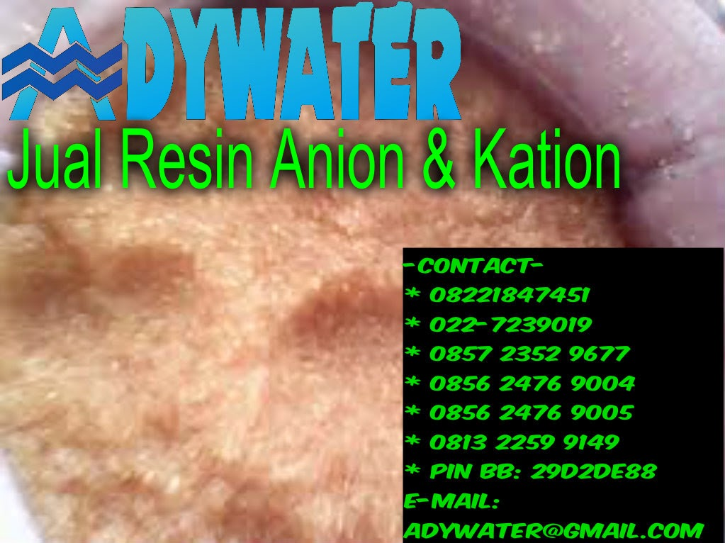 Resin Kation Dan Anion | Jual Resin Kation