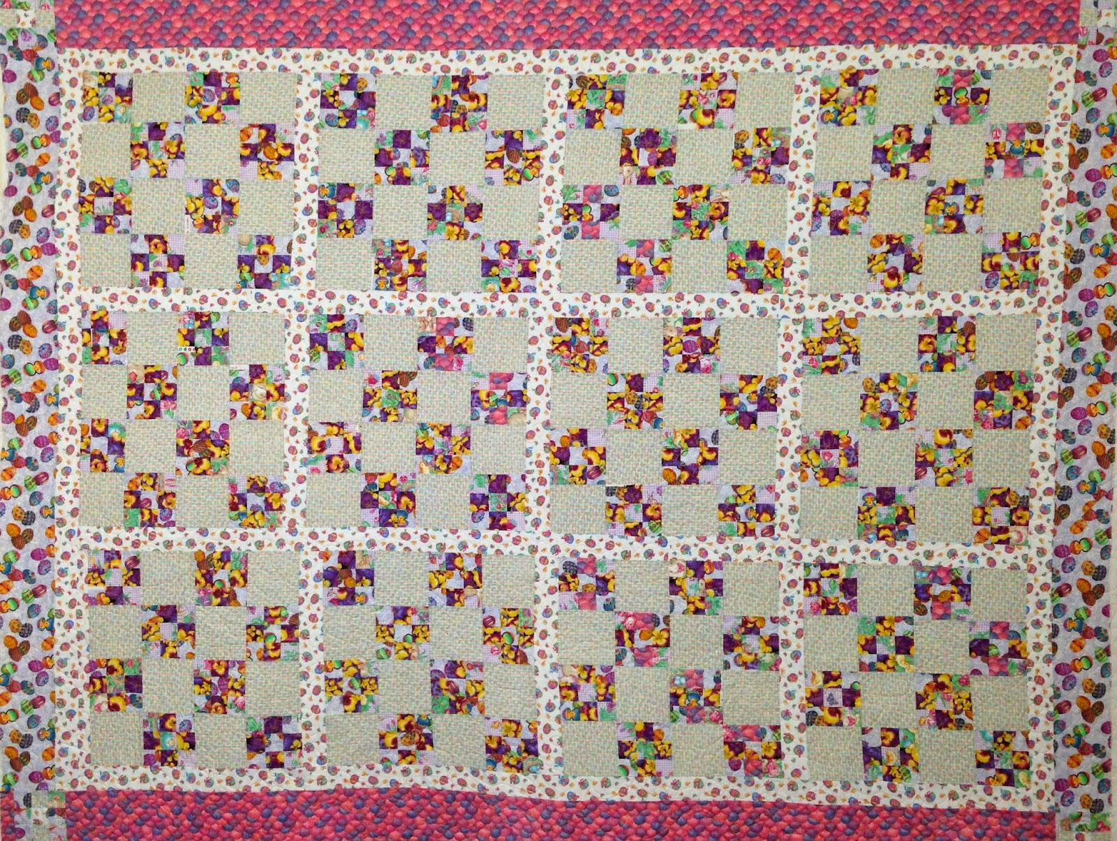 Erin Todd 9-patch Quilt