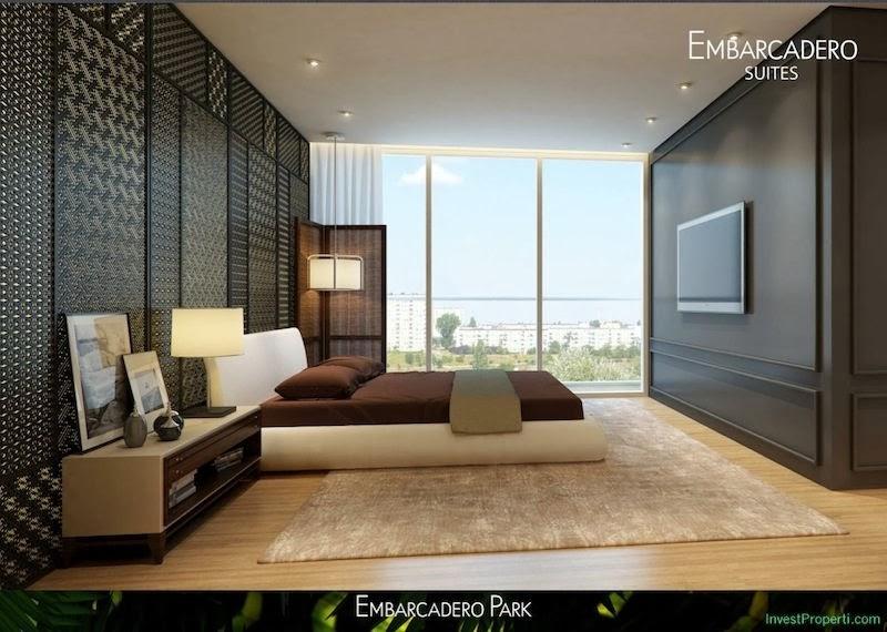 Gambar Interior Design Kamar Apartemen Embarcadero
