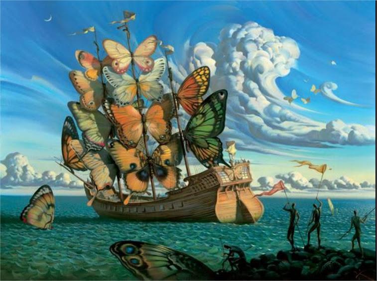 El barco que lleva el sueño