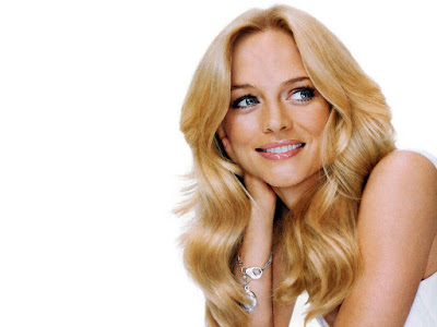 Heather Graham Lovely Wallpaper