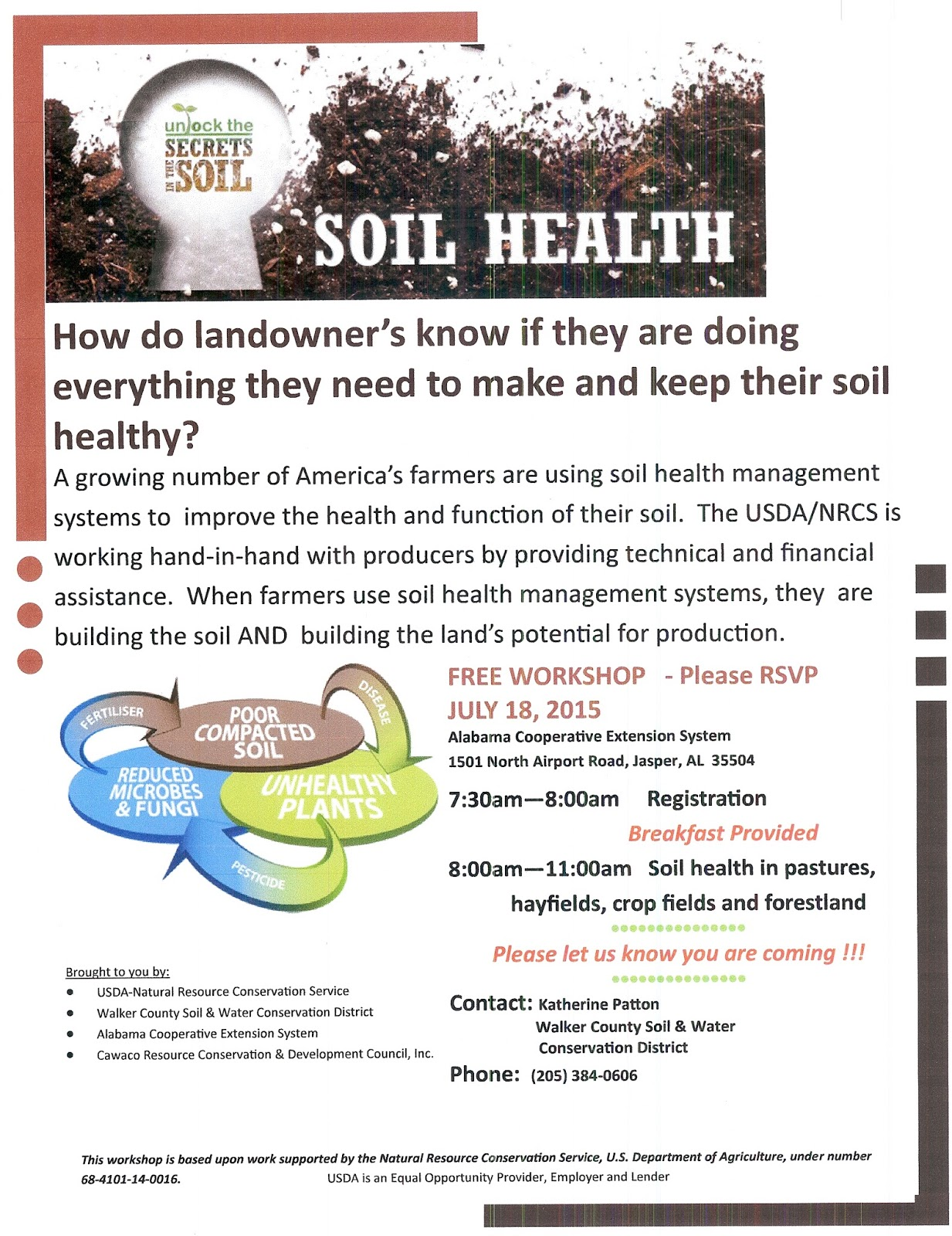 Winston county natural resources council soil health for Natural resources soil information