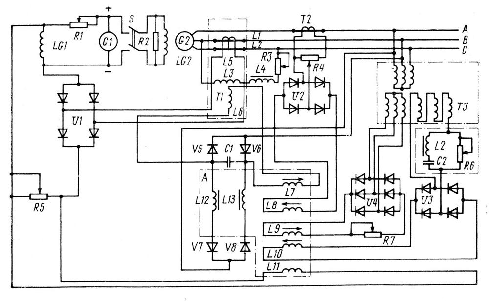 Корректор напряжения кнм-3 схемы подключения
