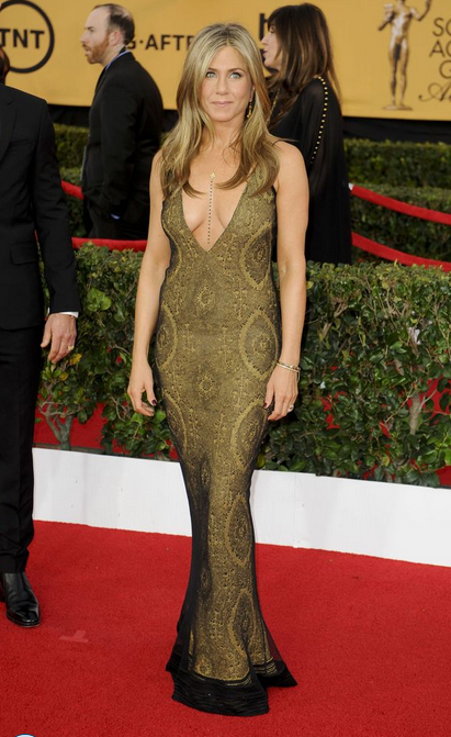 Jennifer Aniston Fashion Dresses 2015