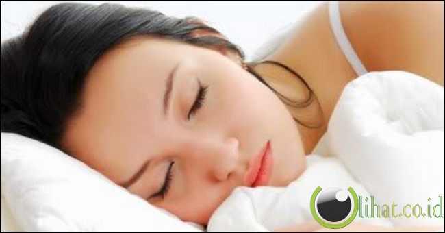 Posisi kepala saat tidur