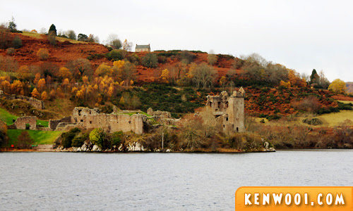 loch ness urquhart castle