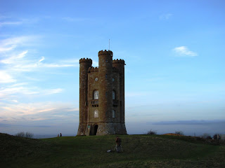 Broadway Tower on the Cotswold Way