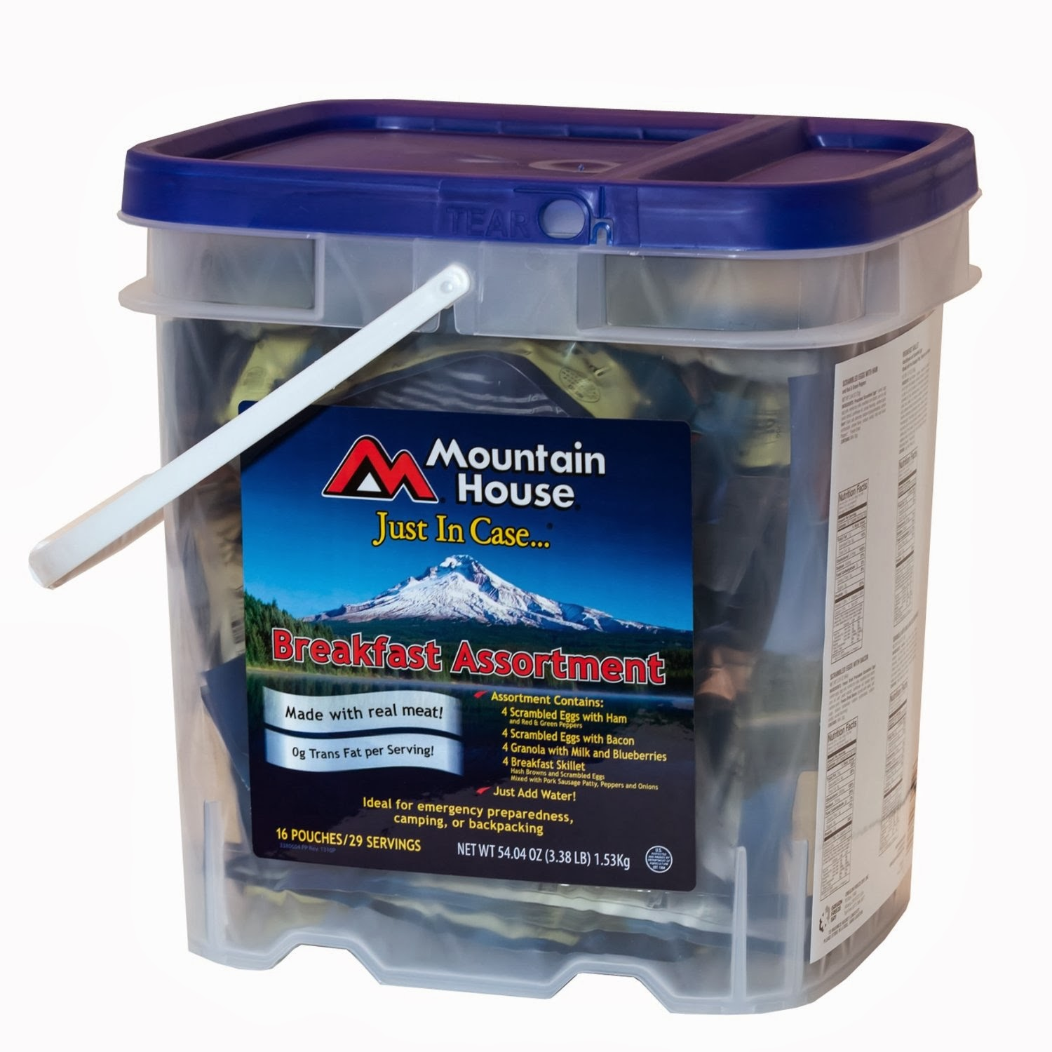 Mountain House Breakfast Bucket
