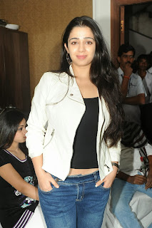 Actress Charmi Kaur Pictures in Jeans at One by Two Movie Celetes 20 Years Event  0119.jpg