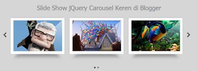 jQuery Carousel dengan UI Kit untuk Blogger