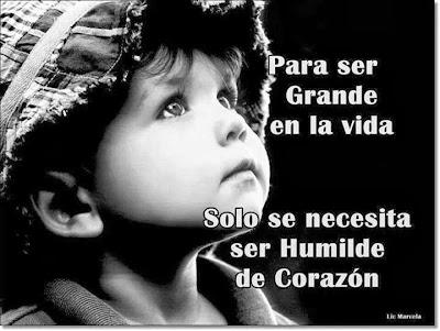 Ser Humilde de Corazón