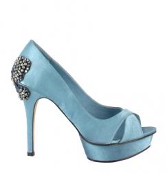 Zapato azul menbur