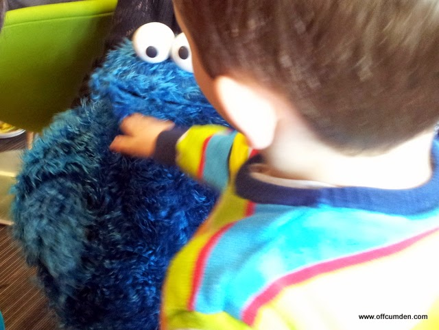 Cookie monster Furchester Hotel