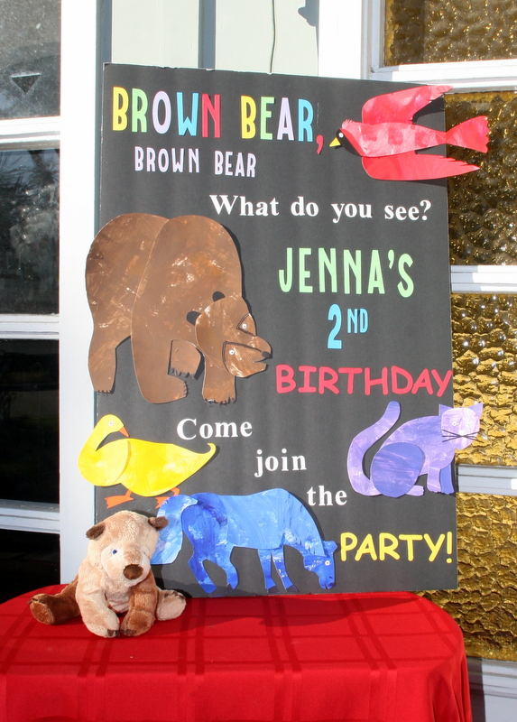 Invite and delight brown bear brown bear birthday filmwisefo