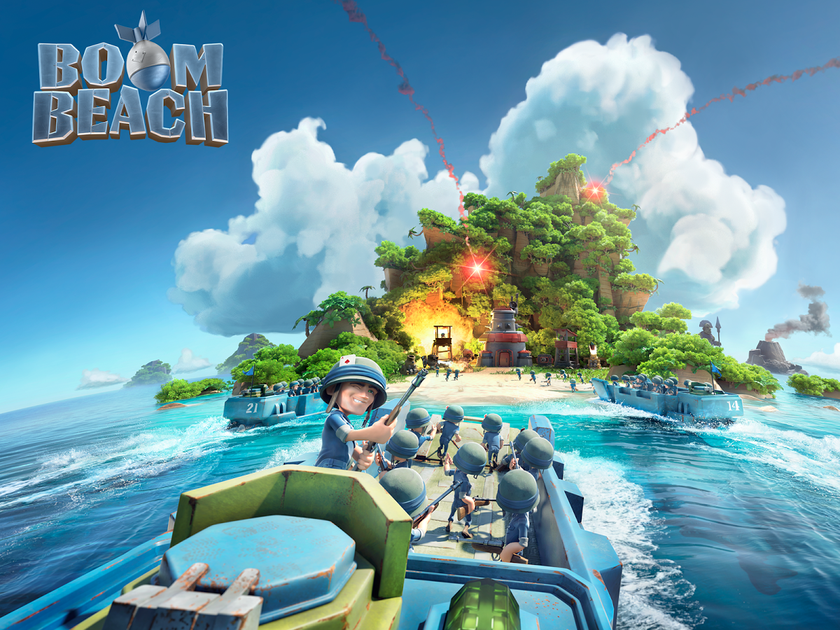 Boom Beach v 19.60 Apk + Data