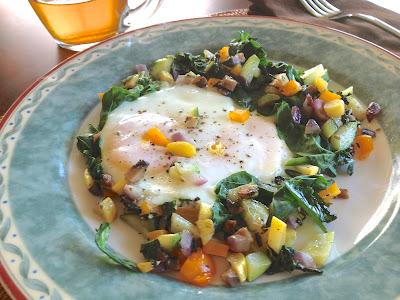 Breakfast Veggie Hash