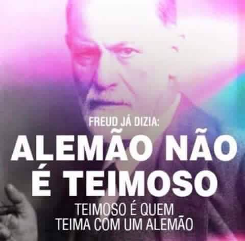 ALEMÃO TEIMOSO