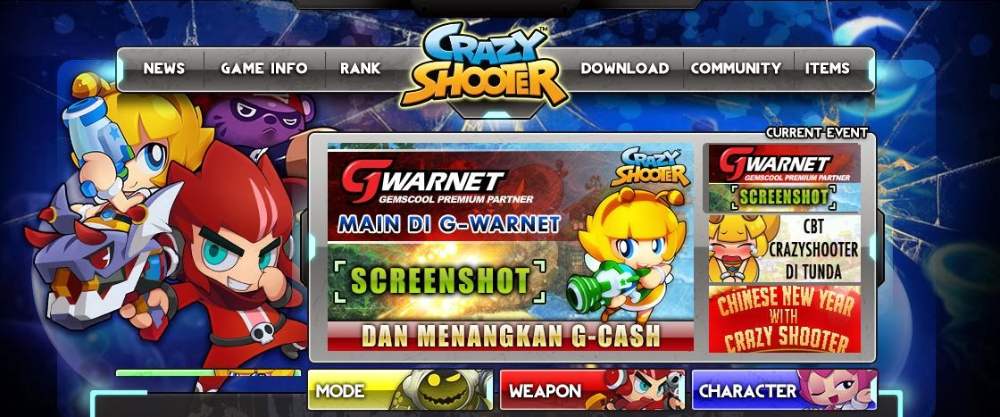 Gemscool Crazy Shooter Indonesia