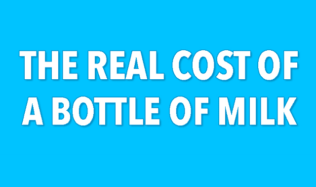 The Real Cost Of A Bottle Of Milk