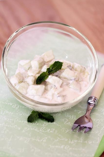 Concombre Crème Menthe Framboise