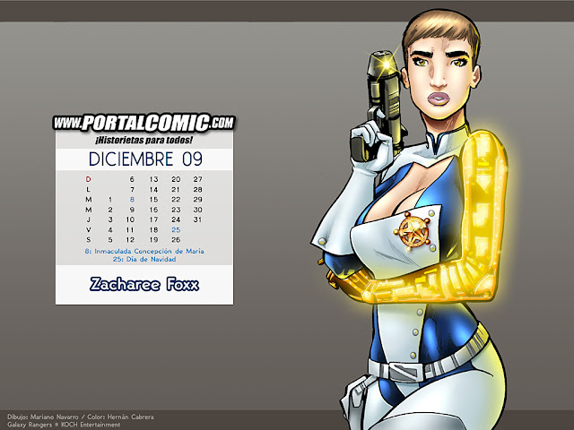 Zacharee Foxx por PortalComic