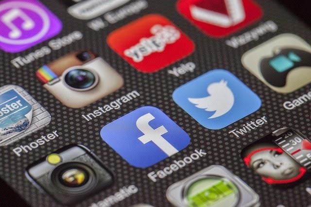 Iconos de redes sociales - Imagen Creative Commons Pixabay