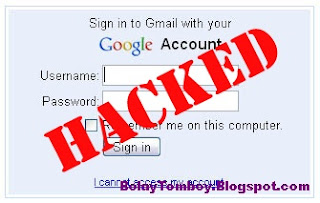 Cara Mengatasi Password Gmail Kena Hack