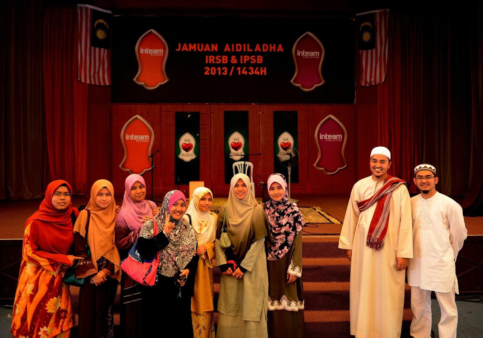 Jamuan Aidil Adha Inteam@ 2013