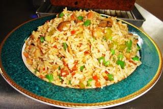 Receta de arroz con vegetales