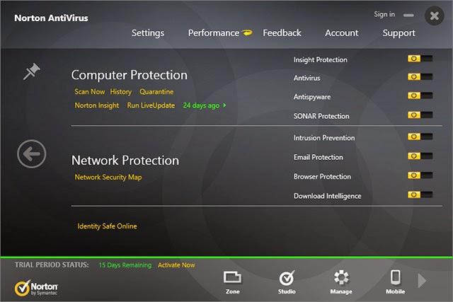 نورتن 2014 90 يوم Norton AntiVirus احدث اصدار