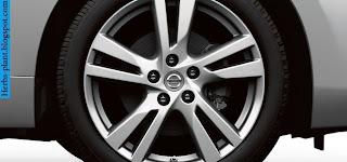 Nissan maxima car 2013 tyres/wheels - صور اطارات سيارة نيسان ماكسيما 2013