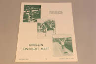 Oregon Twilight Meet Program April 26, 1975