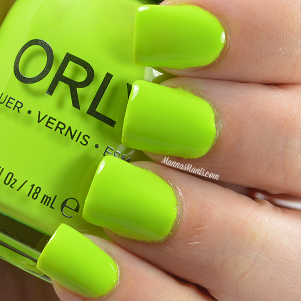 Orly Adrenaline Rush Thrill Seeker swatches