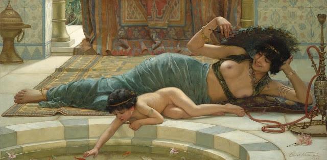 ernest normand,victorian painter,oriental