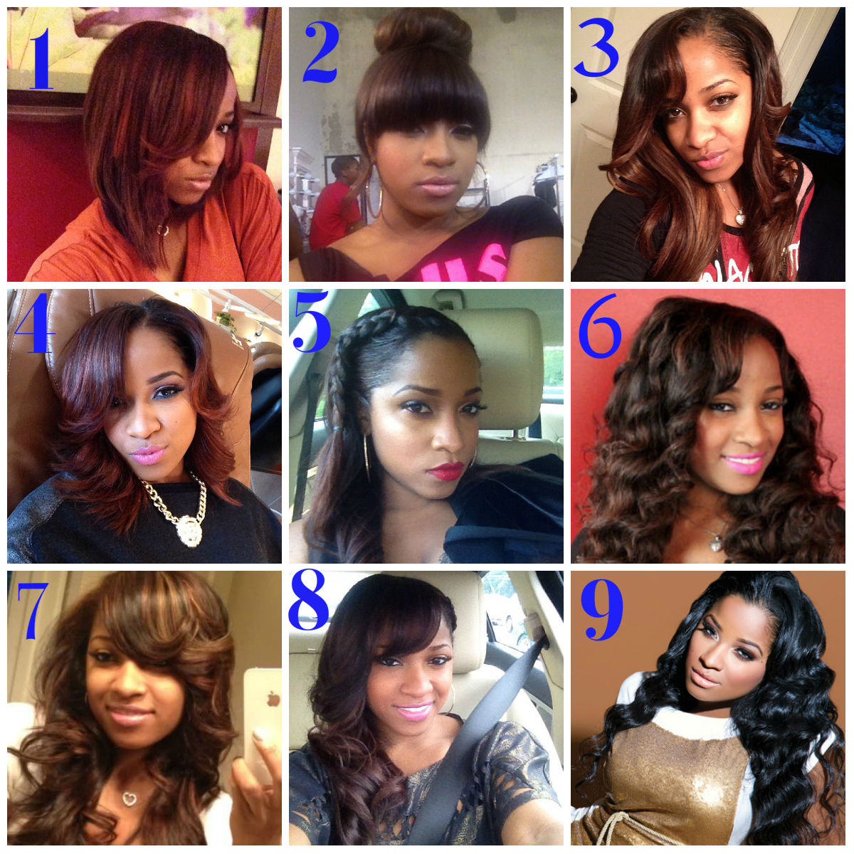K Michelles Hairstyles amp Hair Colors  Steal Her Style