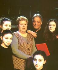 Maestro Mehta, Joan and kids Carmina Burana 2013