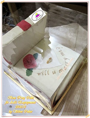 Box Ring Cake