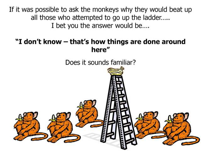 who s got the monkey concept of In the 1974 issue of harvard business review, william oncken, jr and donald l wass wrote who's got the monkey and it has been one of hbr's two best selling.