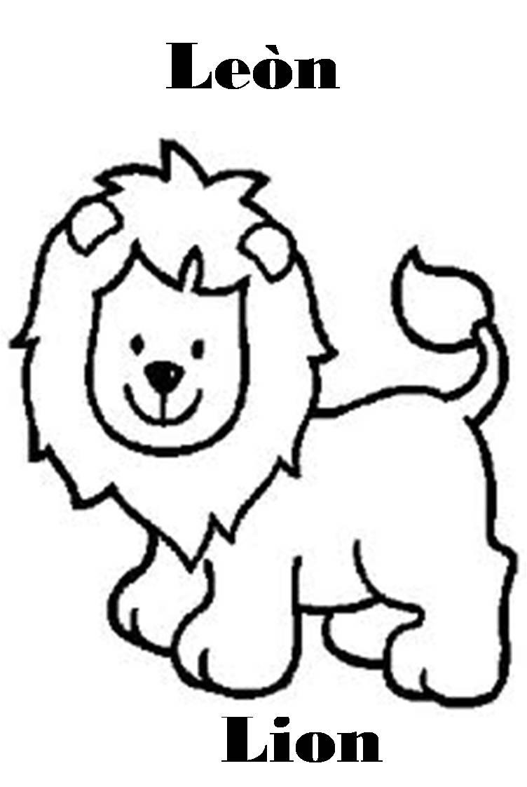 Imagenes para dibujar en Ingles y español: Animales de la ...